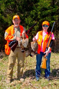 Father-daughter hunting teams are not uncommon at Wil-Nor.
